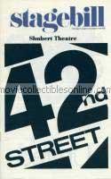 42nd Street Stagebill