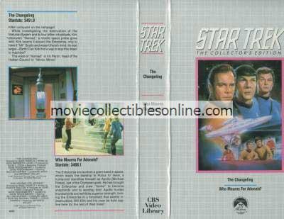 Star Trek Beta - Changeling, Who Mourns For Adonais