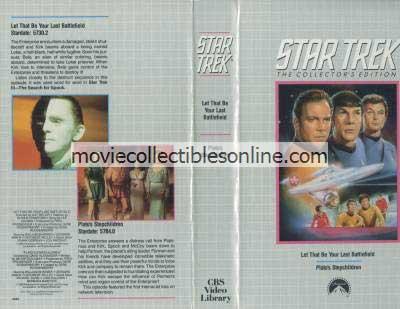Star Trek Beta - Let That Be Your Last Battlefield, Plato's Stepchildren