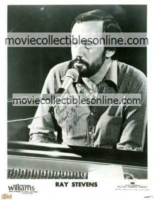 Ray Stevens Autographed Agency Photo
